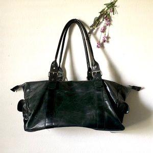 Vintage Leather Traveling Bag